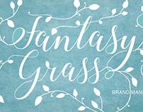 Fantasy Grass Logo | Branding Design | Brand Manual