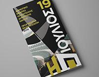 Festival tri-fold brochure