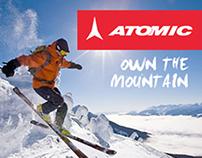 Atomic Skis - Own the Mountain