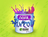 Abril, Pintou