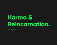 Karma & Reincarnation Book Cover