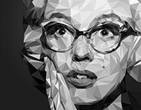 Marilyn Monroe | Low Poly