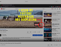 How I fixed my YouTube Watermark Not Showing [2020]