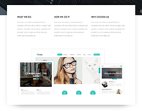 ALINEA / Website Template