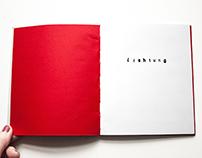 Lichtung, ein Gedicht von Ernst Jandl