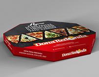 Dona Redonda | Caixa de Pizza