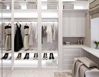 Визуализация гардеробной