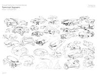 Concept car sketching №1