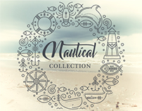 NAUTICAL Line Art Collection