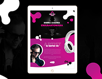 DJ Gietek 90 - website