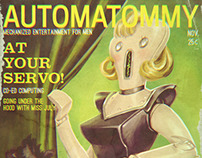 Robo Girlie Mags
