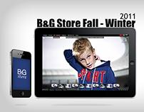 B&G Store Web Design