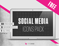 Free Social Media Icons Pack