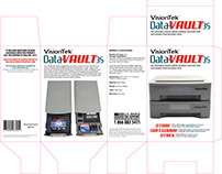 Packaging Design: VisionTek DataVault 3S