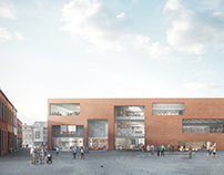 Library & Performing Arts Center, Aalst