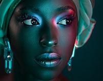 Color Gel Portraiture