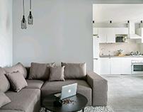 Livingving apartments in Irpen