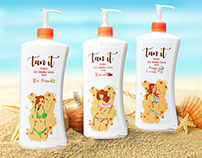 Package Design: Tan It Lation