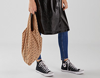 Monogram Shopping Bag for AW18 Bershka Collection