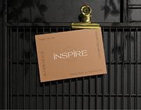 inspire underwear — branding