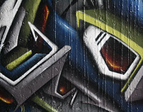 Graffiti session LC crew Paris 2012 ZEEM-IKON-SMER ONE