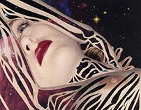 Galaxy | Handmade collage