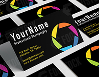 PHOTOGRAPHY BUSINESS CARD (Free Download)