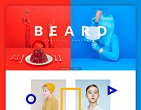 Beard , Creative Portfolio Concept