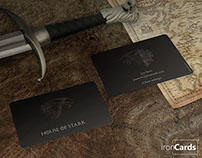 Game Of Thrones Business Cards