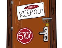 Ilustraciones para tengoalguienparati.com