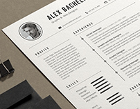 Resume/CV Word