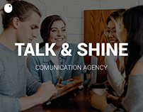 Talk & Shine // Website