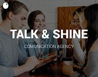 Talk & Shine // Website