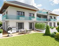 Modélisation 3D, Rendu et Post-Production villa.