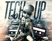 Tech Up - Flyer