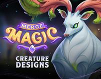 Merge Magic! - Creature Designs