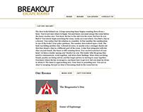 Breakout Escape Rooms (Rebranding)