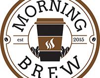 Morning Brew Coffee Logo Design