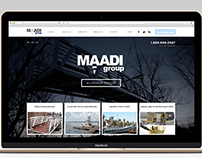 Maadi / Web Design