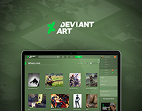DeviantArt Redesign Proposal