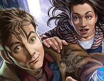 Doctor Who Cover Artworks