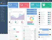 CasperoBoard - Responsive HTML Backend Template