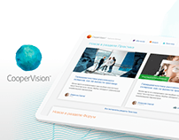 Brand advocates: portal for CooperVision