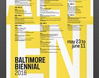Baltimore Biennial: Branding