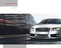 Audi infographics