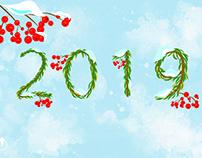 Happy New Year! - Created in Adobe Project Gemini
