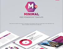 Minimal - Free PowerPoint Template