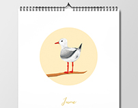 Calendar 2017: 'Birds on Branches'