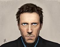 Hugh Laurie Portrait