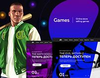 Games Online Store   Website   Mobile APP